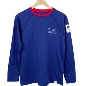 Vineyard Vines Long Sleeve Whale Performance Shirt
